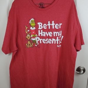 Dr Suess graphic tee size 2XL